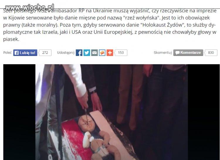 Skandaliczna impreza w Kijowie