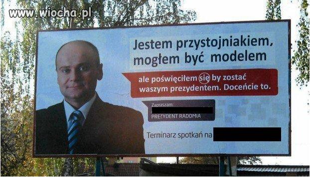 Kampania wyborcza...