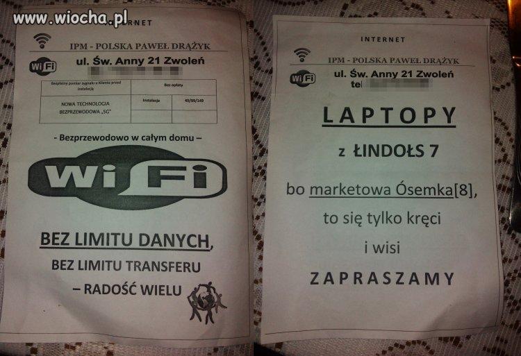 Nie ma to jak laptopy z łindołs 7