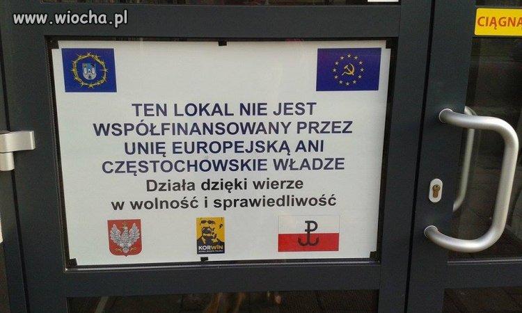 Lokal w Częstochowie.
