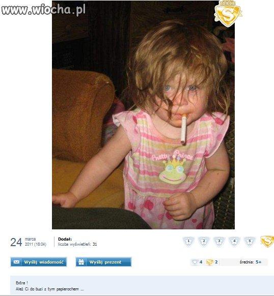 No cóż, rodziców się nie wybiera, tylko szkoda dziecka