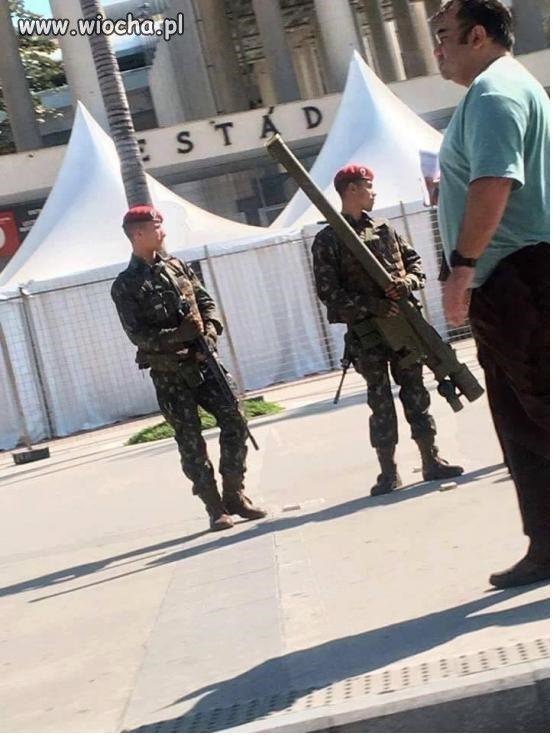 W Brazyli przed olimpiadą bezpieczeństwo wzieli
