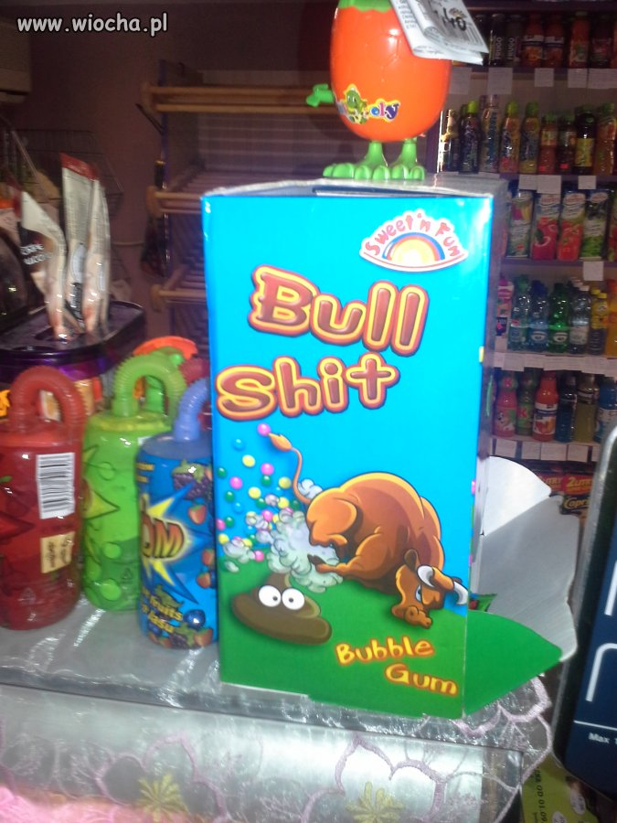 Oto co dzisiaj zobaczyłem w sklepie