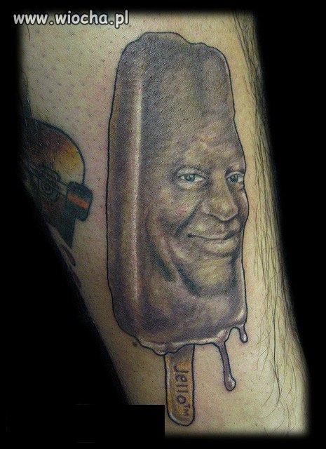 Tatuaż i Bill Cosby