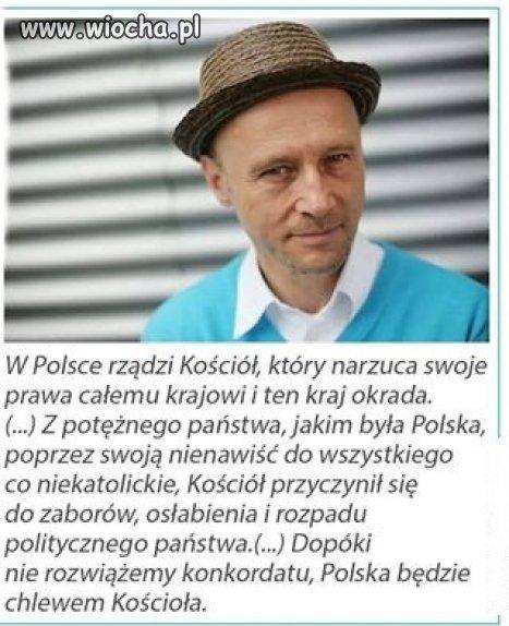 W Polsce ko�ci� rz�dzi,