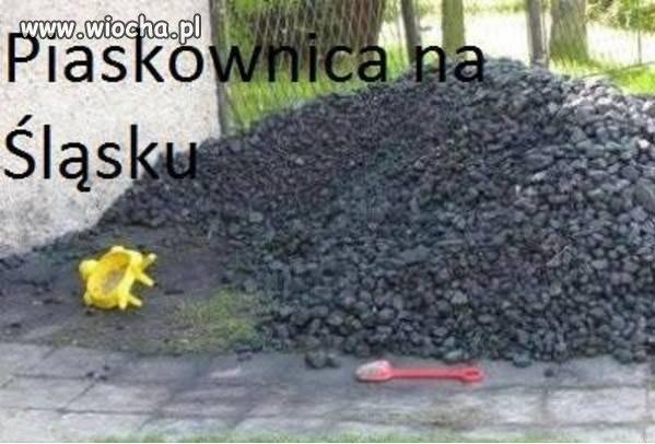 Piaskownica...