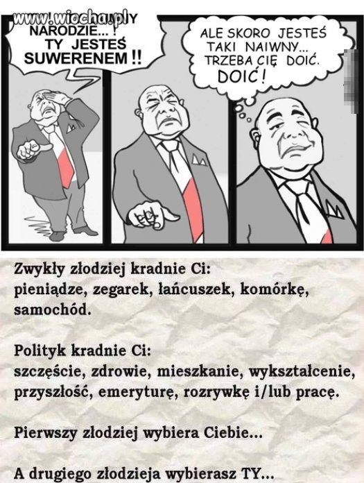 Typowy polityk...