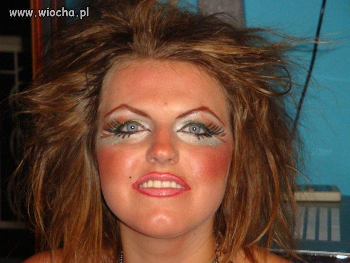Ostry makijaż