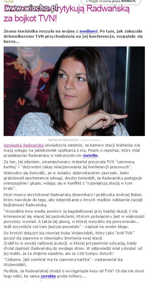 Miernoty dziennikarskie z TVN.
