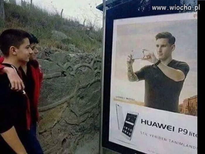 Hej, Messi, zrobisz nam zdjęcie?