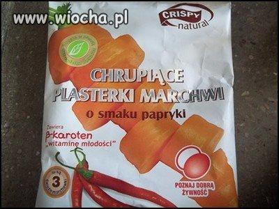 Marchewka o smaku papryki...