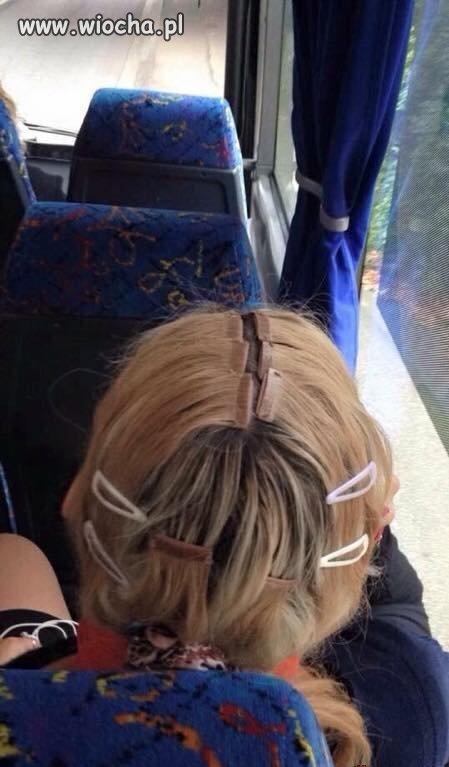 Doczepianie włosów...