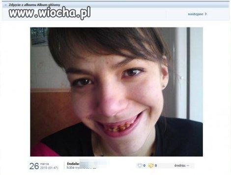Co za piękny uśmiech