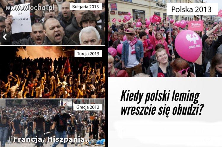 """W Polsce """"dobrze si� powodzi"""""""