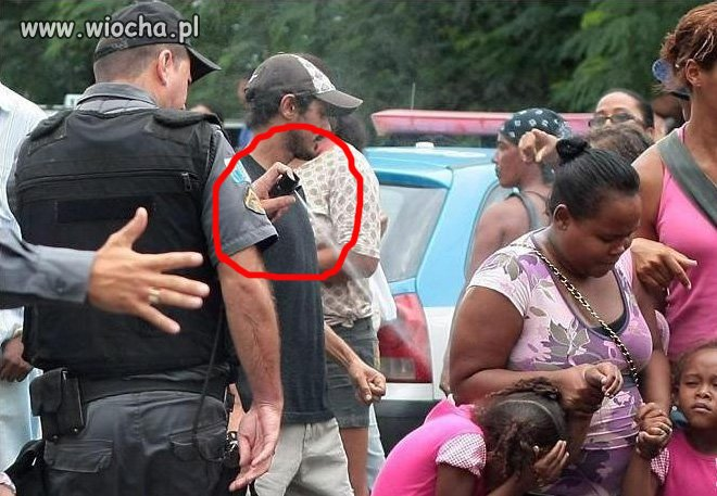 Użyć gazu przeciwko dzieciom...