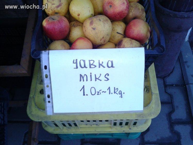Na jednym z polskich bazarków...