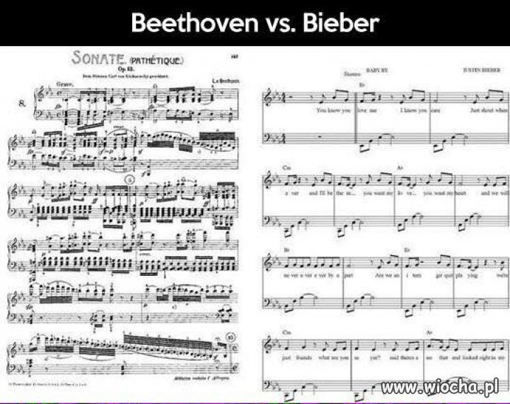 Beethoven vs. Bieber