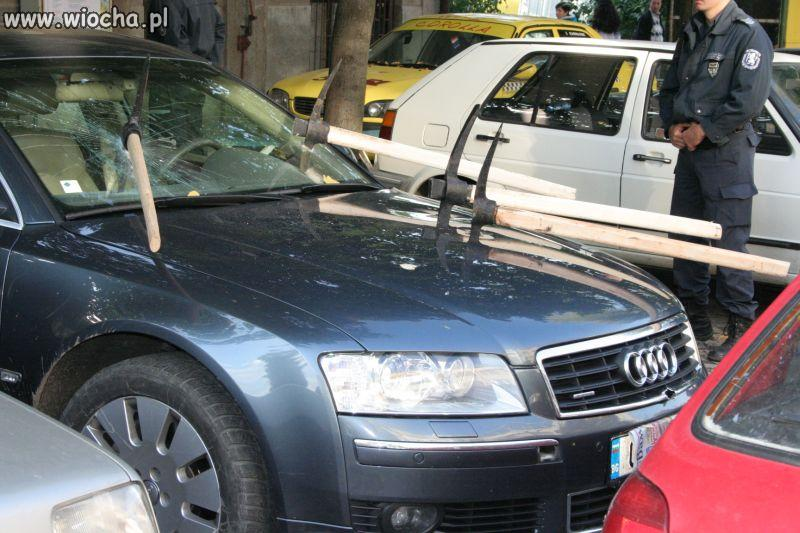Samochód szefa.