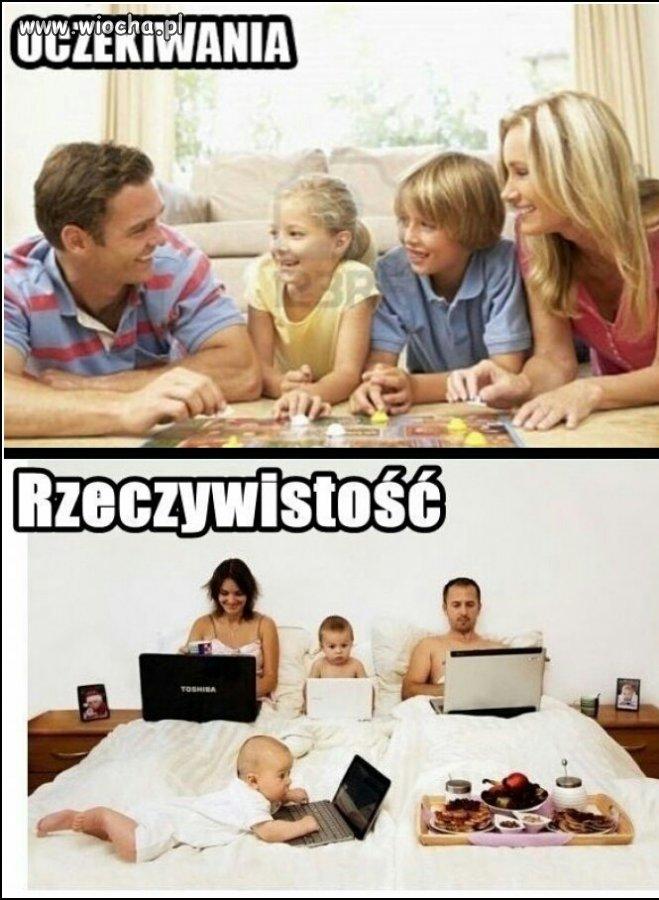Tak wygląda spędzanie czasu razem z rodziną