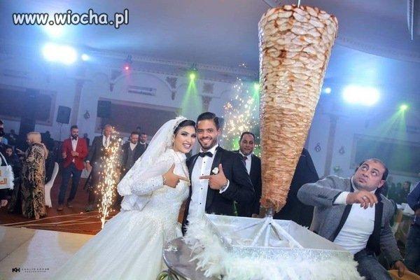 Arabski tort weselny