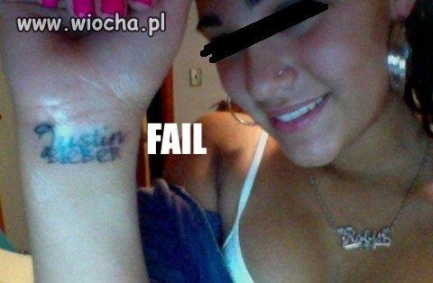 Lepszego pomysłu na tatuaż nie było