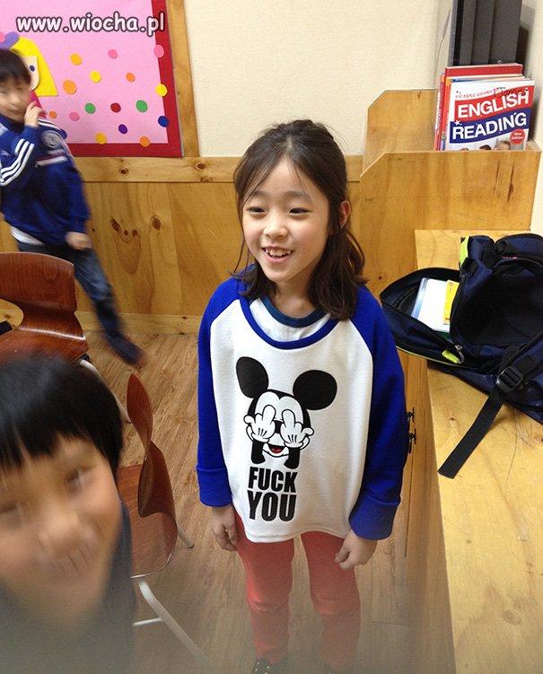 Chiński sweterek z ulubionym bohaterem