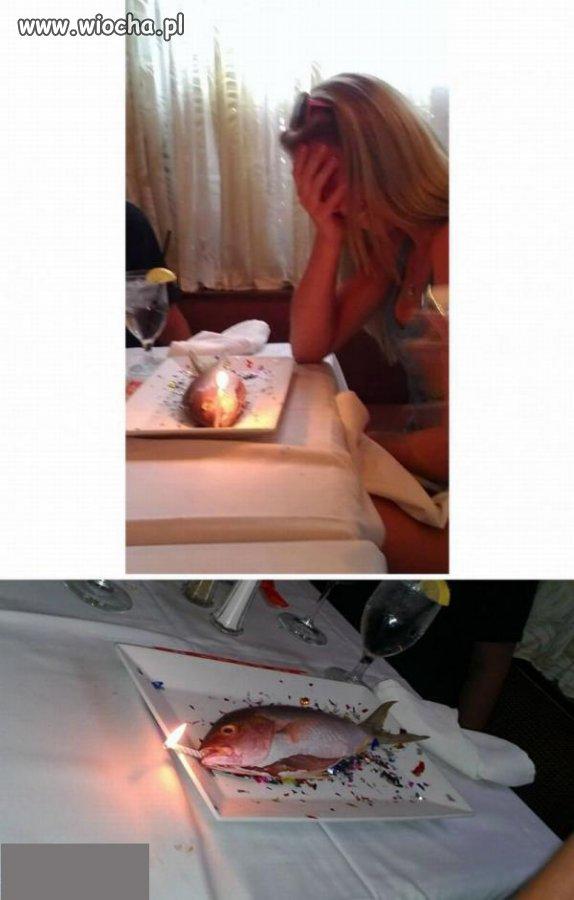 """""""Tort"""" urodzinowy..."""