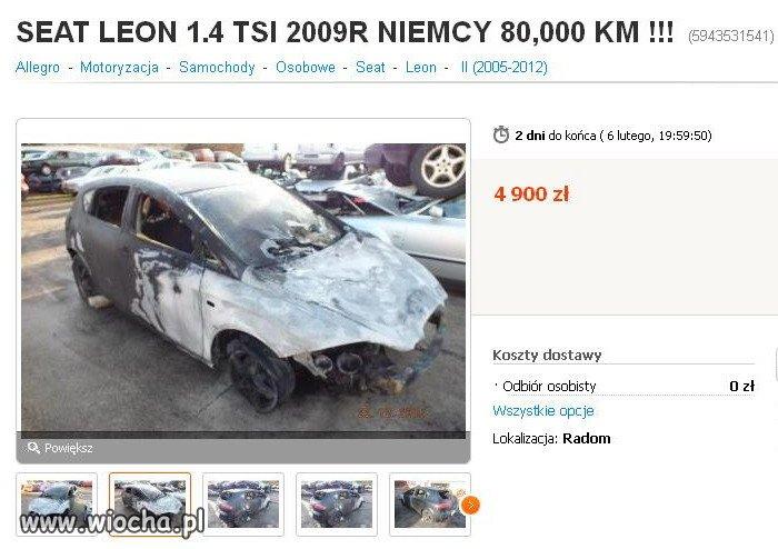 SEAT LEON 1.4 TSI 2009 z NIEMIEC PRZEBIEG 80,000KM