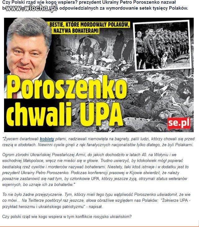 Szokuj�ca wypowied� prezydenta Ukrainy