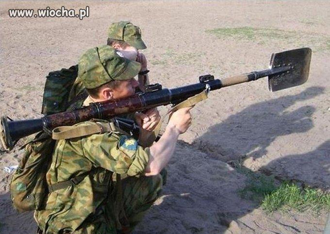 Takie tam na poligonie w Rosji...