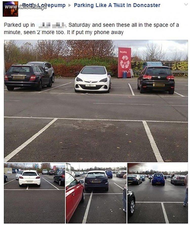 Parkowanie na dwóch miejscach naraz