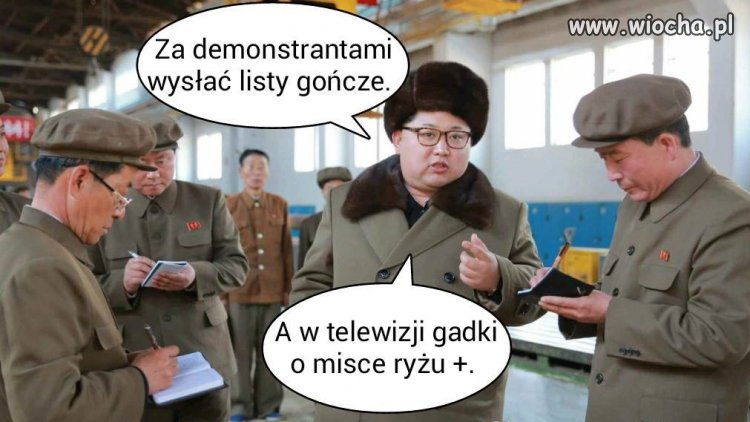 Za demonstrantami