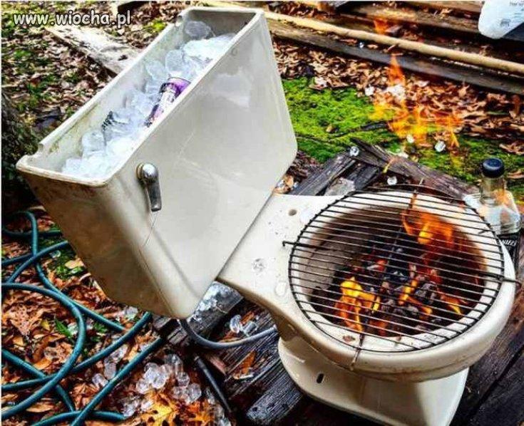 Wyjątkowy grill.