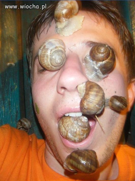 Maseczka ślimakowa