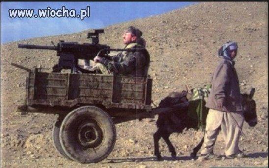 Afgański wóz pancerny