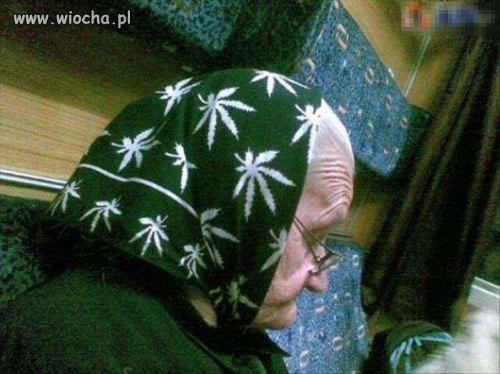 Babcia Maryśka!