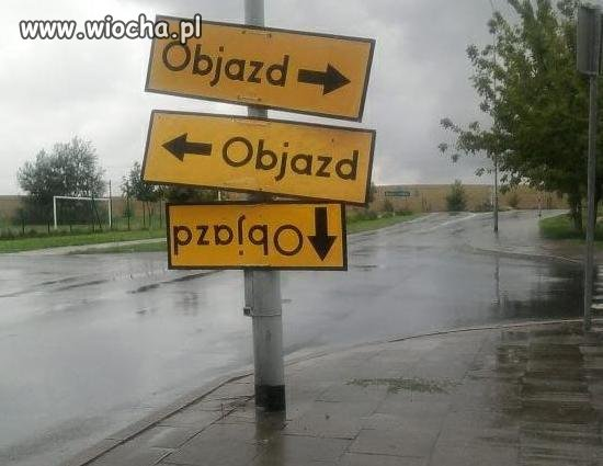 Komentarz zbędny. Czyli oznakowanie w Polsce.