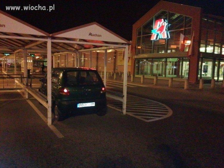 Kryte stanowiska parkingowe