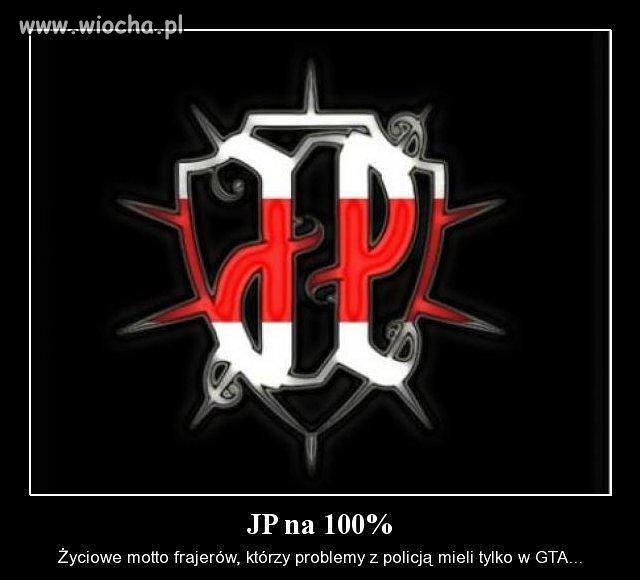 JP na 100 %