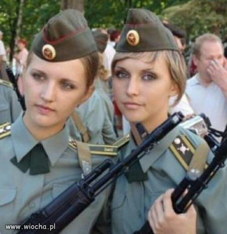 Rosyjscy żołnierze są ładniejsi