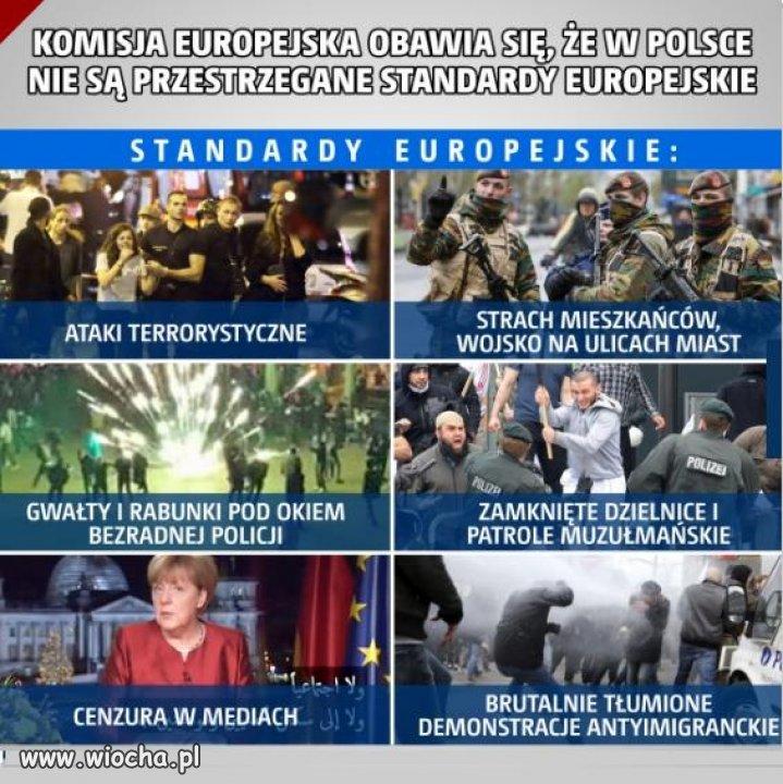 Daleko nam do tych standard�w europejskich...