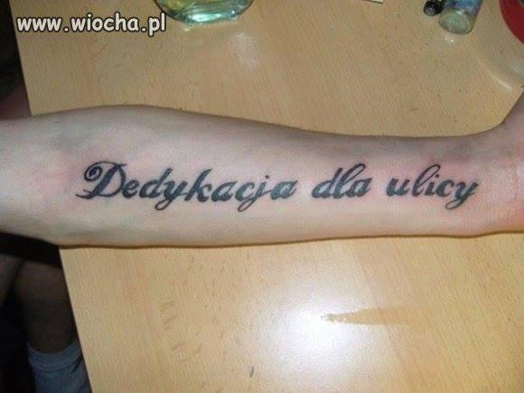 """""""OTO MUJ NOWY TATUASZ"""