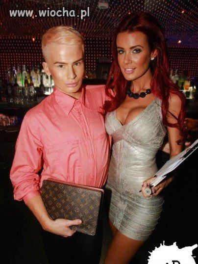 Ken i Barbie na imprę wpadli