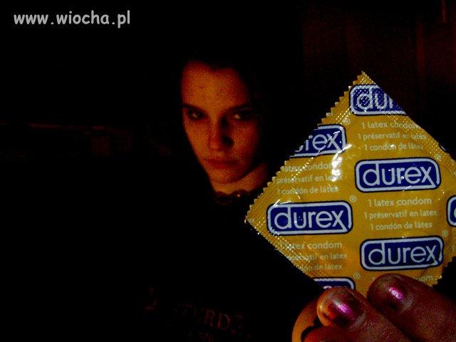 Durex w ręce