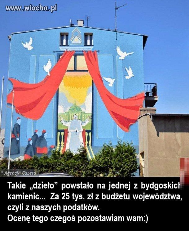 Mural za 25 tys. zł