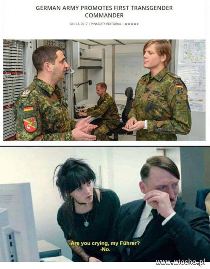 Niemcy zmieniają taktykę