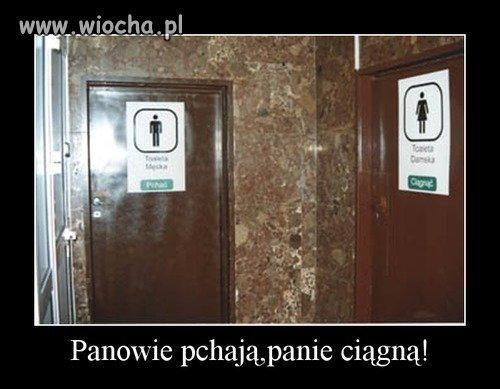 W pewnej toalecie