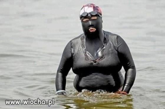 Seksowny strój kąpielowy