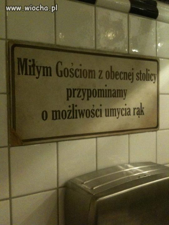 Tymczasem w Krakowie...