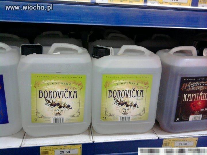 Wodka w kanistrze
